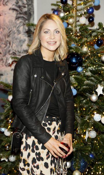 Diane Lynch at the Tesco 2019 Christmas Showcase in Dublin's Iveagh Garden Hotel.   Photo: Kieran Harnett
