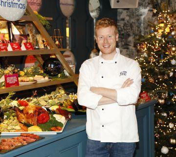 Mark Moriarty at the Tesco 2019 Christmas Showcase in Dublin's Iveagh Garden Hotel.   Photo: Kieran Harnett