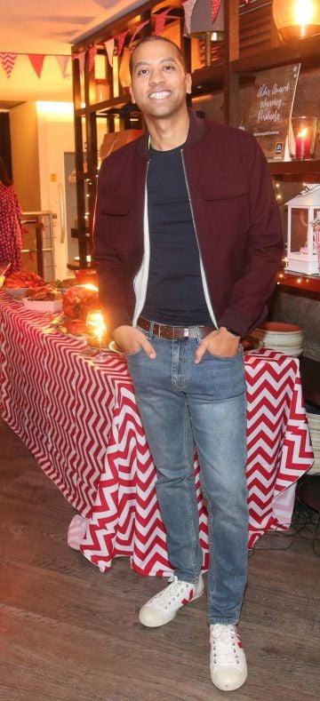 Sean Munsanje pictured at the Aldi Amazing Christmas Showcase 2019. Photograph: Leon Farrell / Photocall Ireland