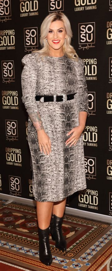 Michelle Fox pictured at the launch the SOSU by Suzanne Jackson 20 piece Christmas Gift Set Collection at the Westin Hotel, Dublin. Pic: Brian McEvoy Photography