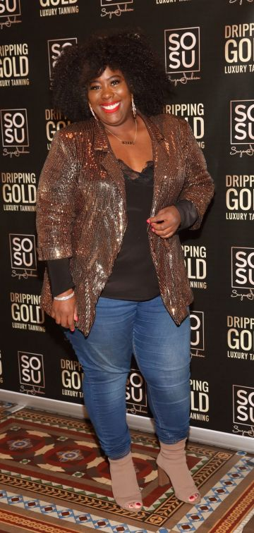 Nadine Reid pictured at the launch the SOSU by Suzanne Jackson 20 piece Christmas Gift Set Collection at the Westin Hotel, Dublin. Pic: Brian McEvoy Photography