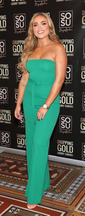 Ellie Kelly pictured at the launch the SOSU by Suzanne Jackson 20 piece Christmas Gift Set Collection at the Westin Hotel, Dublin. Pic: Brian McEvoy Photography