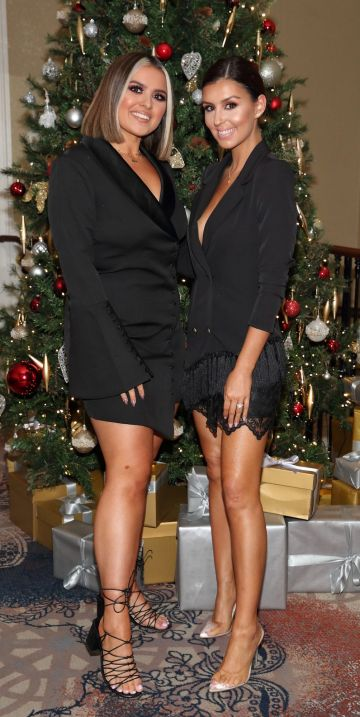 Aideen Kate and Terrie McEvoy  pictured at the launch the SOSU by Suzanne Jackson 20 piece Christmas Gift Set Collection at the Westin Hotel, Dublin. Pic: Brian McEvoy Photography