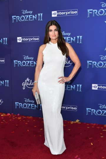 """Idina Menzel attends the premiere of Disney's """"Frozen 2"""" at Dolby Theatre on November 07, 2019 in Hollywood, California. (Photo by Amy Sussman/Getty Images)"""
