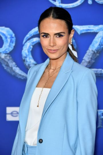"""Jordana Brewster attends the premiere of Disney's """"Frozen 2"""" at Dolby Theatre on November 07, 2019 in Hollywood, California. (Photo by Amy Sussman/Getty Images)"""