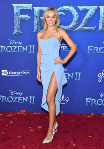 """Michelle Randolph attends the premiere of Disney's """"Frozen 2"""" at Dolby Theatre on November 07, 2019 in Hollywood, California. (Photo by Amy Sussman/Getty Images)"""