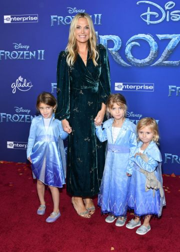 """Molly Sims attends the premiere of Disney's """"Frozen 2"""" at Dolby Theatre on November 07, 2019 in Hollywood, California. (Photo by Amy Sussman/Getty Images)"""