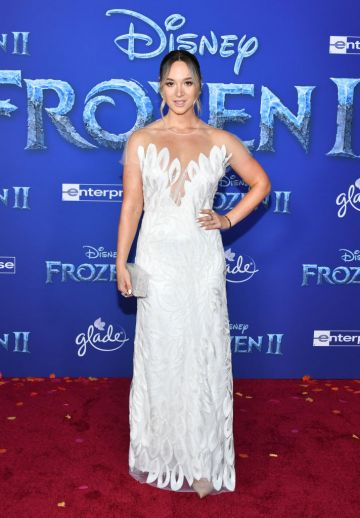"""Alisha Marie attends the premiere of Disney's """"Frozen 2"""" at Dolby Theatre on November 07, 2019 in Hollywood, California. (Photo by Amy Sussman/Getty Images)"""