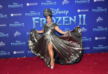 """Patrick Starrr attends the premiere of Disney's """"Frozen 2"""" at Dolby Theatre on November 07, 2019 in Hollywood, California. (Photo by Amy Sussman/Getty Images)"""