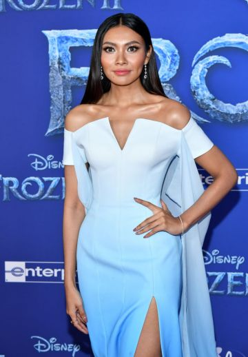 """Wichayanee Piaklin attends the premiere of Disney's """"Frozen 2"""" at Dolby Theatre on November 07, 2019 in Hollywood, California. (Photo by Amy Sussman/Getty Images)"""