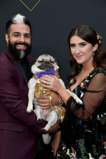 Doug the Pug attends the 2019 E! People's Choice Awards at Barker Hangar on November 10, 2019 in Santa Monica, California. (Photo by Frazer Harrison/Getty Images)