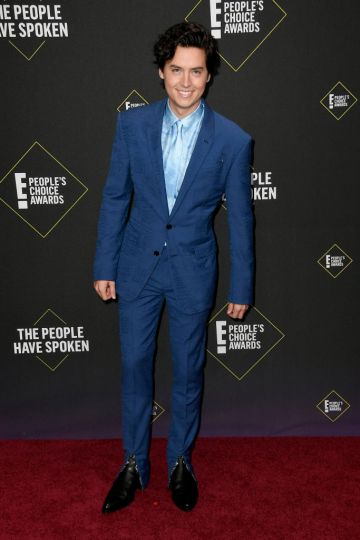 Cole Sprouse attends the 2019 E! People's Choice Awards at Barker Hangar on November 10, 2019 in Santa Monica, California. (Photo by Frazer Harrison/Getty Images)