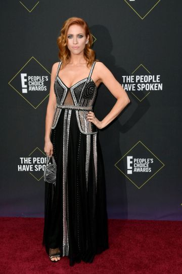 Brittany Snow  attends the 2019 E! People's Choice Awards at Barker Hangar on November 10, 2019 in Santa Monica, California. (Photo by Frazer Harrison/Getty Images)
