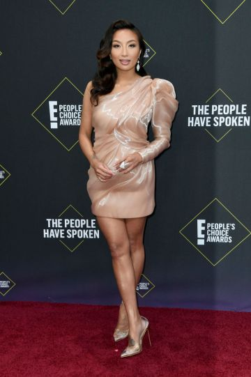 Jeannie Mai attends the 2019 E! People's Choice Awards at Barker Hangar on November 10, 2019 in Santa Monica, California. (Photo by Frazer Harrison/Getty Images)