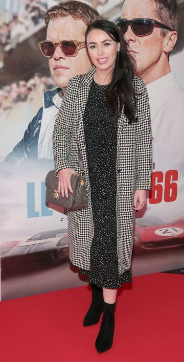 Eileen Sutton pictured at the special preview screening of Le Mans '66 at Cineworld, Dublin. Photo: Brian McEvoy.