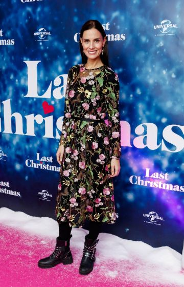 Alison Canavan pictured at the Universal Pictures Irish premiere screening of Last Christmas at the Light House Cinema, Dublin.  Picture: Andres Poveda