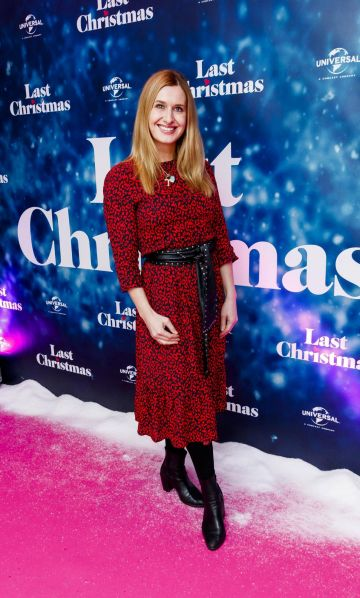 Roxanne Parker pictured at the Universal Pictures Irish premiere screening of Last Christmas at the Light House Cinema, Dublin.  Picture: Andres Poveda