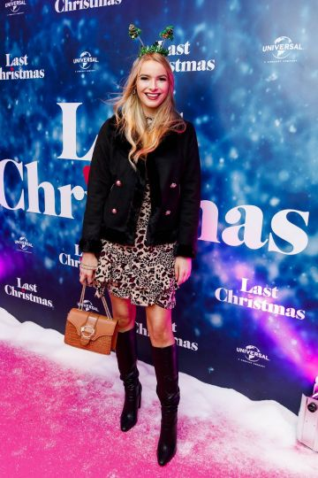 Laura Grant  pictured at the Universal Pictures Irish premiere screening of Last Christmas at the Light House Cinema, Dublin.  Picture: Andres Poveda