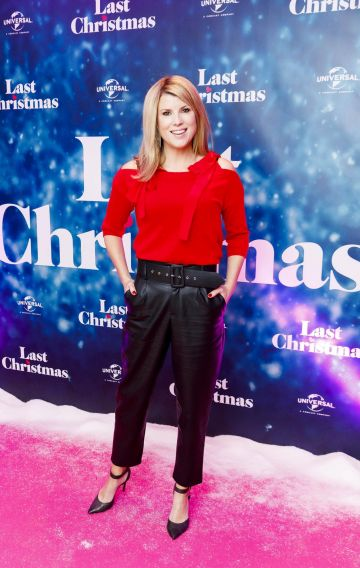 Jenny Buckley  pictured at the Universal Pictures Irish premiere screening of Last Christmas at the Light House Cinema, Dublin.  Picture: Andres Poveda