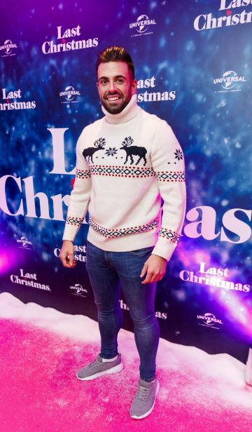 Karl Bowe pictured at the Universal Pictures Irish premiere screening of Last Christmas at the Light House Cinema, Dublin.  Picture: Andres Poveda