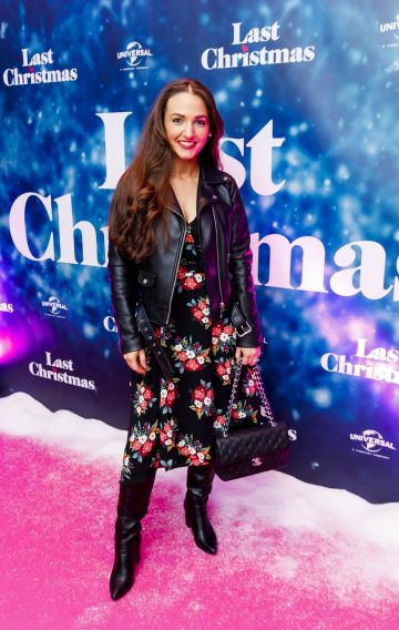 Belle Azzure  pictured at the Universal Pictures Irish premiere screening of Last Christmas at the Light House Cinema, Dublin.  Picture: Andres Poveda