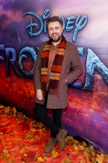 "James Patrice pictured at the special preview screening of Disney's ""Frozen 2"" at the Light House Cinema, Dublin.  Picture Andres Poveda"