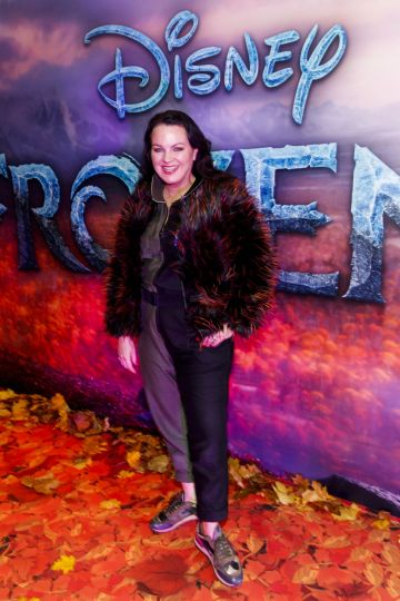 "Triona McCarthy pictured at the special preview screening of Disney's ""Frozen 2"" at the Light House Cinema, Dublin.  Picture Andres Poveda"