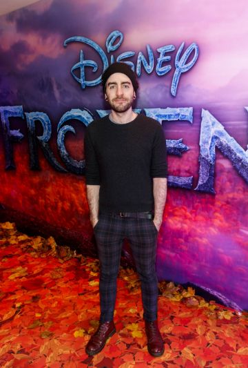 "Davey O'Reilly pictured at the special preview screening of Disney's ""Frozen 2"" at the Light House Cinema, Dublin.  Picture Andres Poveda"