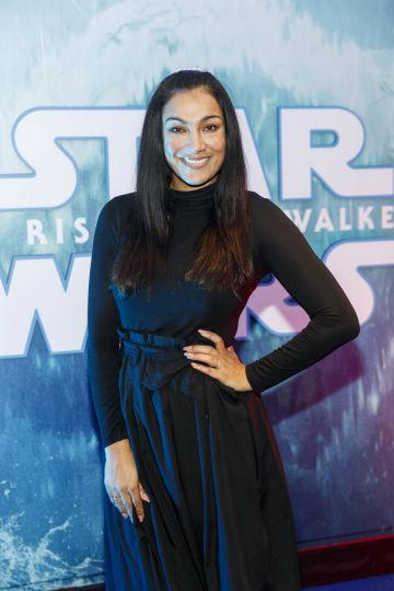 Hazel Kaneswaran pictured at the Irish premiere screening of Star Wars: The Rise of Skywalker at Cineworld, Dublin. Picture: Andres Poveda