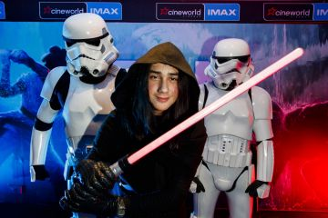 Jack Condron pictured at the Irish premiere screening of Star Wars: The Rise of Skywalker at Cineworld, Dublin. Picture: Andres Poveda