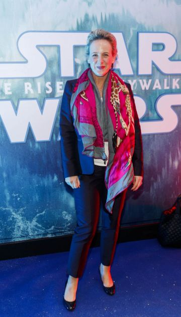 Sybil Mulcahy pictured at the Irish premiere screening of Star Wars: The Rise of Skywalker at Cineworld, Dublin. Picture: Andres Poveda