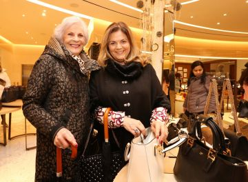26/12/2019 Brown Thomas Sale. Pictured are (LtoR) Winifred and Margaret Noone today (26th December 2019) at the highly anticipated Brown Thomas Sale.  Photo: Sasko Lazarov/Photocall Ireland