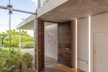 Pictured: The Love Island villa.