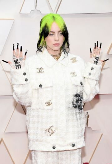 Billie Eilish attends the 92nd Annual Academy Awards at Hollywood and Highland on February 09, 2020 in Hollywood, California. (Photo by Kevin Mazur/Getty Images)