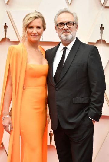 Musician Alison Balsom and filmmaker Sam Mendes attend the 92nd Annual Academy Awards at Hollywood and Highland on February 09, 2020 in Hollywood, California. (Photo by Amy Sussman/Getty Images)