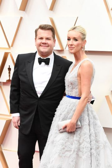 James Corden and Julia Carey attends the 92nd Annual Academy Awards at Hollywood and Highland on February 09, 2020 in Hollywood, California. (Photo by Steve Granitz/WireImage)