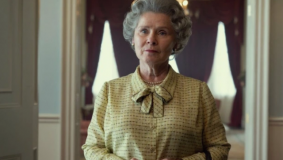 Here's your first look at Imelda Staunton as Queen Elizabeth in 'The Crown'