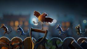 Catch the adorable teaser for Aardman's Netflix animation 'Robin Robin'