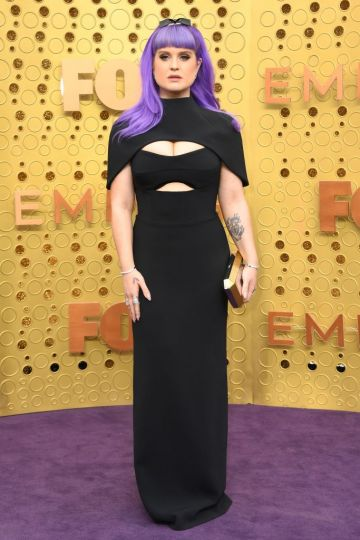 TV host Kelly Osbourne arrives for the 71st Emmy Awards at the Microsoft Theatre in Los Angeles on September 22, 2019. Photo: VALERIE MACON/AFP/Getty Images)