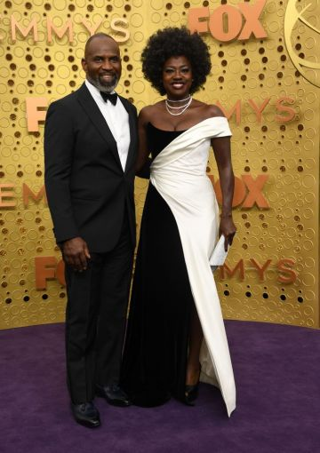 US actress Viola Davis and husband Julius Tennon arrive for the 71st Emmy Awards at the Microsoft Theatre in Los Angeles on September 22, 2019. (Photo: VALERIE MACON/AFP/Getty Images)