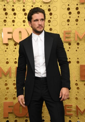 British actor Kit Harington arrives for the 71st Emmy Awards at the Microsoft Theatre in Los Angeles on September 22, 2019. (Photo: VALERIE MACON/AFP/Getty Images)