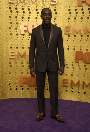US actor Michael K. Williams arrives for the 71st Emmy Awards at the Microsoft Theatre in Los Angeles on September 22, 2019. (Photo by VALERIE MACON/Getty Images)