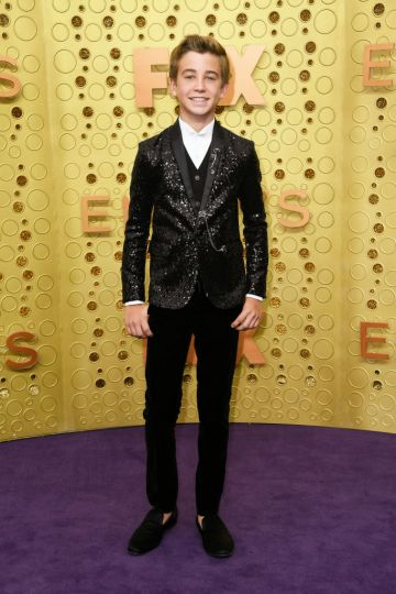 Parker Bates attends the 71st Emmy Awards at Microsoft Theater on September 22, 2019 in Los Angeles, California. (Photo by Frazer Harrison/Getty Images)