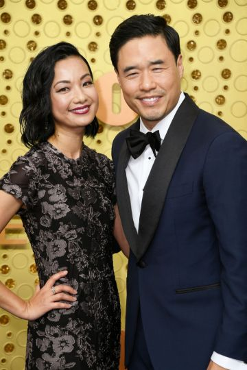 Jae W. Suh and Randall Park attend the 71st Emmy Awards at Microsoft Theater on September 22, 2019 in Los Angeles, California. (Photo by Frazer Harrison/Getty Images)