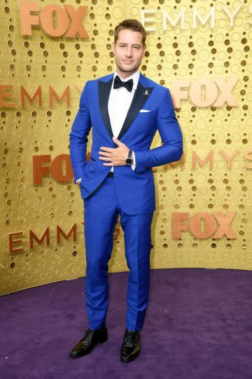 Justin Hartley attends the 71st Emmy Awards at Microsoft Theater on September 22, 2019 in Los Angeles, California. (Photo by Frazer Harrison/Getty Images)
