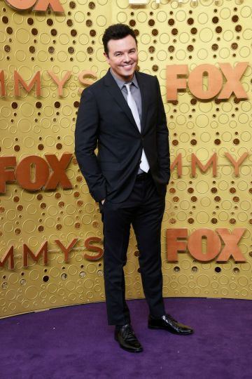 Seth MacFarlane attends the 71st Emmy Awards at Microsoft Theater on September 22, 2019 in Los Angeles, California. (Photo by Frazer Harrison/Getty Images)
