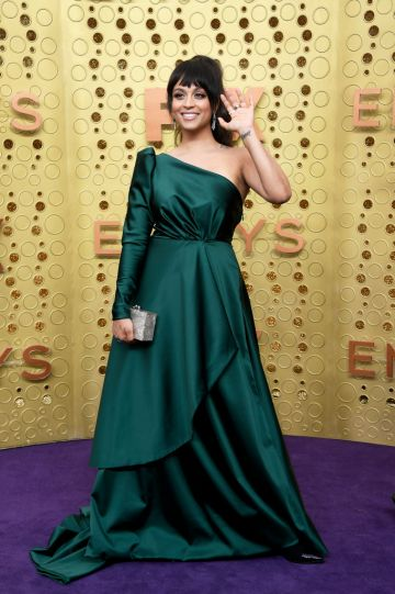Lilly Singh attends the 71st Emmy Awards at Microsoft Theater on September 22, 2019 in Los Angeles, California. (Photo by Frazer Harrison/Getty Images)