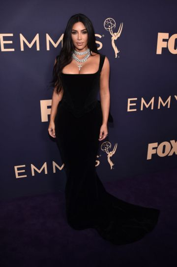 LOS ANGELES, CALIFORNIA - SEPTEMBER 22: Kim Kardashian attends the 71st Emmy Awards at Microsoft Theater on September 22, 2019 in Los Angeles, California. (Photo by Alberto E. Rodriguez/Getty Images)