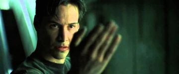 Keanu Reeves as Neo in 'The Matrix'