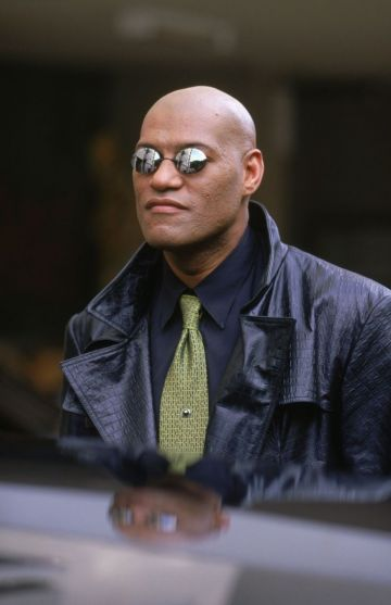 Laurence Fishburne as Morpheus in 'The Matrix'